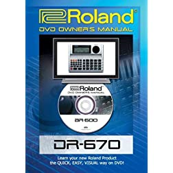Roland (Boss) DR-670 DVD Video Tutorial Manual Help