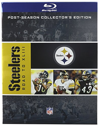 NFL: Pittsburgh Steelers - Road to XLIII [Blu-ray]