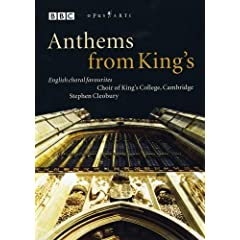 Anthems from King's - English Choral Favorites