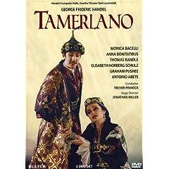 Handel - Tamerlano / Jonathan Miller, Trevor Pinnock - Bacelli, Randle, Pushee, Norberg-Schulz, Bonitatibus, Abete - Händelfestspiele Halle 2001