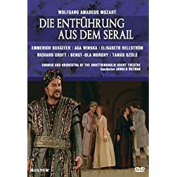 Mozart - Die Entfuhrung aus dem Serail / Aga Winska, Richard Croft, Elisabet Hellstrom, Bengt-Ola Morgny, Tamas Szule, Arnold Ostman, Drottningholm Opera