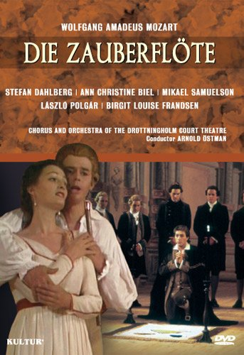 Mozart - The Magic Flute / Ostman, Biel, Dahlberg, Drottningholm Court Theatre