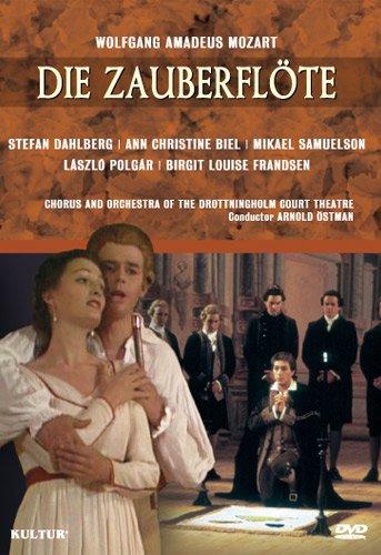 Mozart - The Magic Flute / Ostman, Biel, Dahlberg, Drottningholm Court Theatre