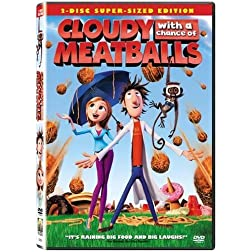 Cloudy with a Chance of Meatballs (Two-Disc Super-Sized Edition)