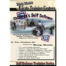 "Marty Martin's Children's Self Defense Training Series ""Jr. Two Attackers Set"""
