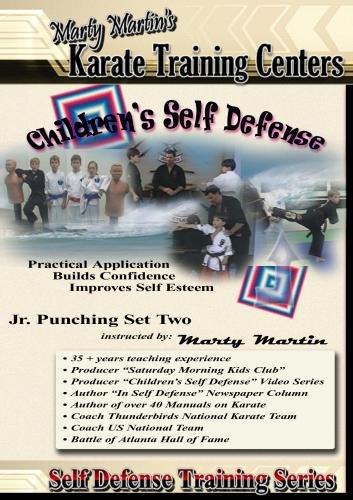 "Marty Martin's Children's Self Defense Training Series ""Jr. Punching Set Two"""