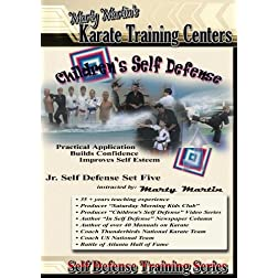 Marty Martin's Children's Self Defense Training Series &quot;Jr. Self Defense Set Five&quot;
