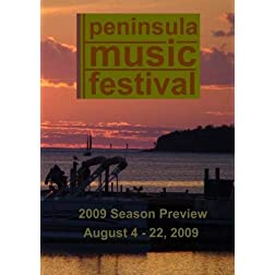Peninsula Music Festival 2009 Preview