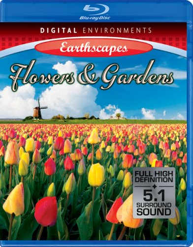 Living Landscapes: Earthscapes - Flowers & Gardens [Blu-ray]