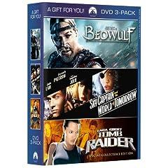 Beowulf / Sky Captain and the World of Tomorrow / Lara Croft: Tomb Raider