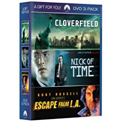 Cloverfield / Nick of Time / Escape from L.A.