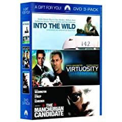 Into The Wild / Virtuosity / The Manchurian Candidate