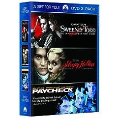 Sweeney Todd / Paycheck / Sleepy Hollow