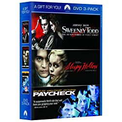 Sweeney Todd / Paycheck / Sleepy Hollow