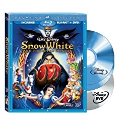 Snow White and the Seven Dwarfs (Two-Disc Blu-ray/DVD Combo + BD Live w/ Blu-ray packaging)  [Blu-ray]