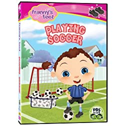 Frannys Feet: Playing Soccer