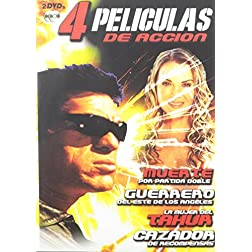 4 Peliculas de Accion, Vol. 1