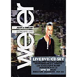 Paul Weller - Just a Dream - 22 Dreams Live (DVD+CD Set) (NTSC/Region 0)