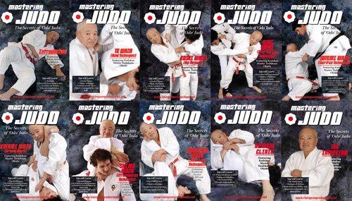 Judo Okada Kodokan Mastering Judo 10 DVD Special Collectors Wooden Box Set