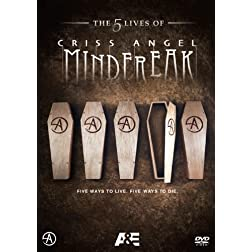 The Five Lives of Criss Angel Mindfreak DVD SET