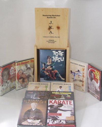 Shotokan Karate Mastering Shotokan 10 DVD Wooden Box Set