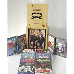 Martial Arts American Masters Wooden Box set