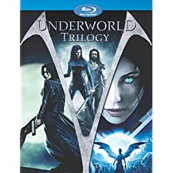 Underworld Trilogy (Underworld / Underworld: Evolution / Underworld: Rise of the Lycans) [Blu-ray]