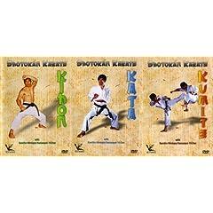 Shotokan Karate Knazawa 3 DVD Box set Kihon Kumite & Kata