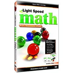 Light Speed Math: Shapes, Measurements & Graphs