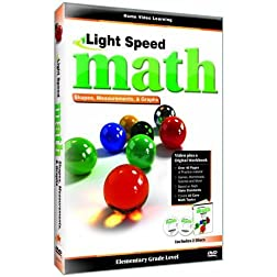 Light Speed Math: Shapes, Measurements & Graphs