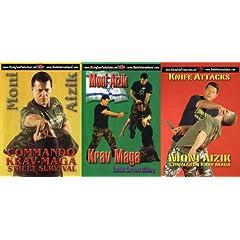 Krav Maga Moni Aizik 3 DVD Box set