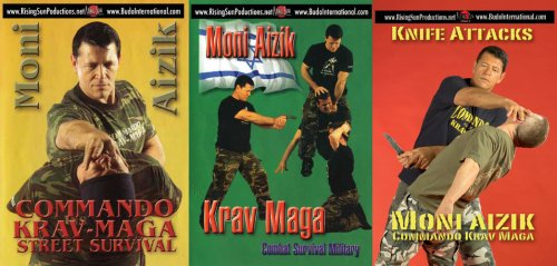 Krav Maga Moni Aizik 3 DVD Box set