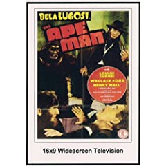 The Ape Man 16x9 Widescreen TV.