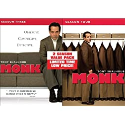 Monk: Seasons Three & Four