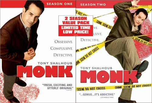Monk: Seasons One & Two