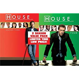 House: Seasons Three & Four