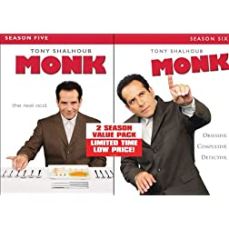 Monk: Seasons Five & Six