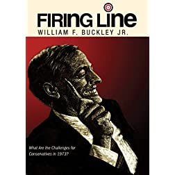 "Firing Line with William F. Buckley Jr. ""What Are the Challenges for Conservatives in 1973?"""