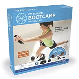 Gaiam Fat Burning Bootcamp Workout Kit - New!