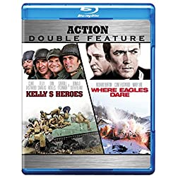 Kelly's Heroes/Where Eagles Dare (Action Double Feature) [Blu-ray]