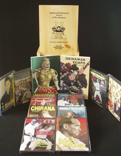 Martial Arts Japanese Historical Series Wooden Box Set