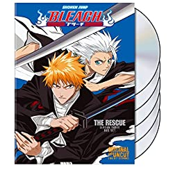 Bleach Uncut Box Set, Vol. 3: The Rescue w/ Limited Collector's Hollow Mask