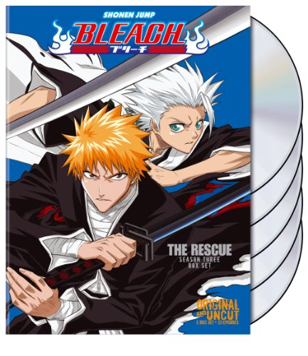 Bleach Uncut Box Set, Vol. 3: The Rescue