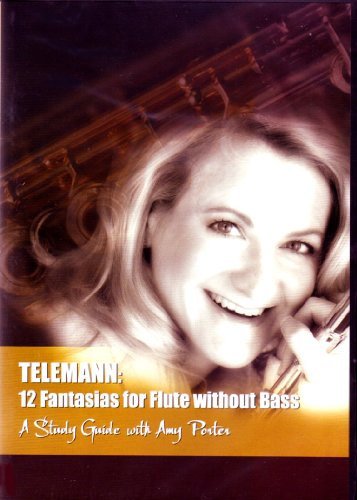 Telemann: 12 Fantasias for Flute without Bass