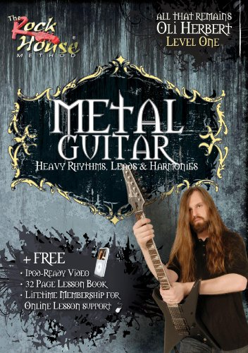 METAL GUITAR Heavy Rhythms, Leads & Harmonies Volume 1
