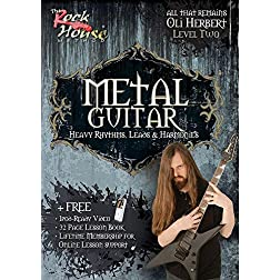 METAL GUITAR Heavy Rhythms, Leads & Harmonies Volume 2