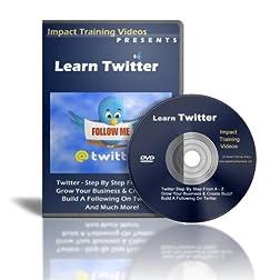 Learn Twitter DVD