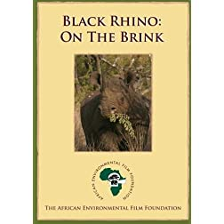 Black Rhino - On the Brink (Institutional Use - Library/High School/Non-Profit)