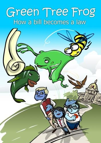 Green Tree Frog - How a Bill Becomes a Law