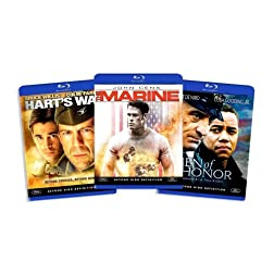 Blu-ray War Bundle, Vol. 4 (Men of Honor / Harts War / The Marine) (Amazon.com Exclusive) [Blu-ray]